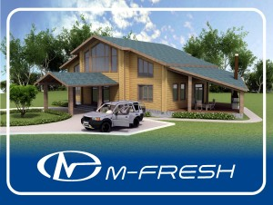 Дом БК M-FRESH 121