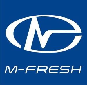 Логотип M-FRESH крупно