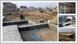 Фундамент баня-дом M-FRESH-2